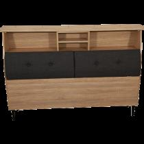 床頭箱3型有背靠