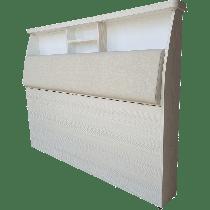 床頭箱A2款(有開門有背墊)