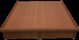 固定床台有邊框
